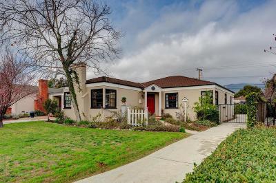 Pasadena Single Family Home For Sale: 2355 Paloma Street