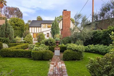 Pasadena Single Family Home Active Under Contract: 430 South San Marino Avenue