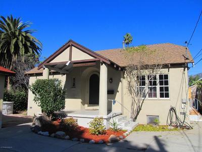Pasadena Single Family Home For Sale: 745 East Villa Street