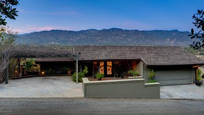 Pasadena Single Family Home For Sale: 943 Glen Oaks Boulevard
