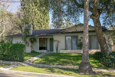 Altadena Single Family Home For Sale: 2216 Mar Vista Avenue