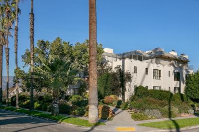 Pasadena Condo/Townhouse For Sale: 422 Gordon Terrace #5