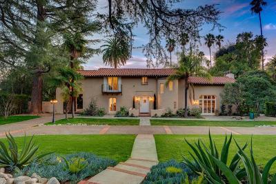 Altadena Single Family Home Active Under Contract: 1640 East Altadena Drive