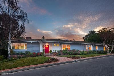 Pasadena Single Family Home For Sale: 1640 Knollwood Drive