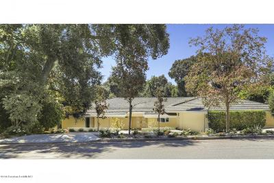 La Canada Flintridge CA Single Family Home For Sale: $2,999,000