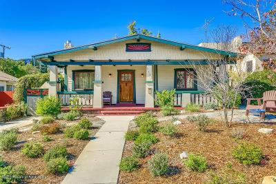 Glendale Single Family Home For Sale: 3425 Downing Avenue