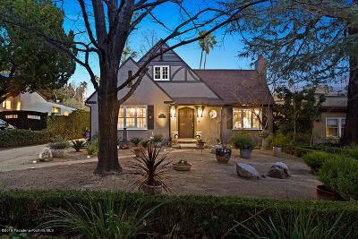 Pasadena Single Family Home For Sale: 1250 North Holliston Avenue