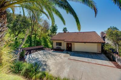 Burbank Single Family Home Active Under Contract: 1310 East Tujunga Avenue