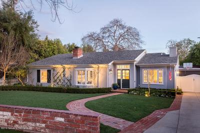 Pasadena Single Family Home For Sale: 191 Sierra View Road