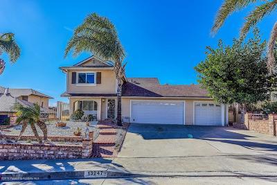 Sylmar Single Family Home For Sale: 13247 Parkland Circle