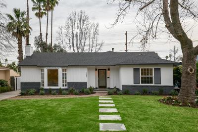 Pasadena Single Family Home For Sale: 2384 Galbreth Road