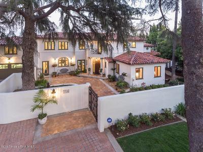 Pasadena Single Family Home For Sale: 1726 Linda Vista Avenue