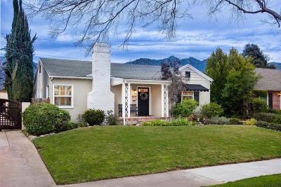 Pasadena Single Family Home For Sale: 2337 Loma Vista Street