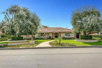 Arcadia Single Family Home For Sale: 562 Arbolada Drive