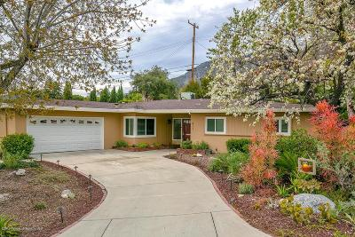 Altadena Single Family Home For Sale: 411 Alta Pine Drive