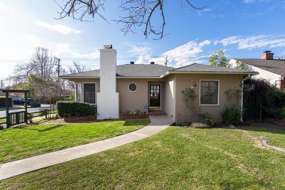 Pasadena Single Family Home For Sale: 2416 Monte Vista Street