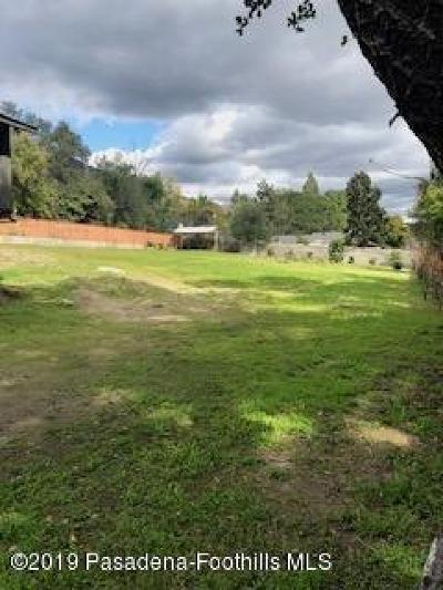 Sierra Madre Residential Lots & Land For Sale: 444 North Lima Street