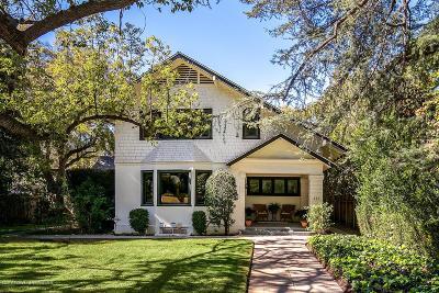 Pasadena Single Family Home For Sale: 831 South El Molino Avenue