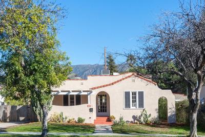 Pasadena Single Family Home For Sale: 465 East Penn Street