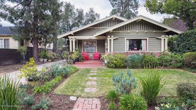 Pasadena Single Family Home For Sale: 1246 East Lexington Street