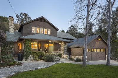 Pasadena Single Family Home For Sale: 460 California Terrace