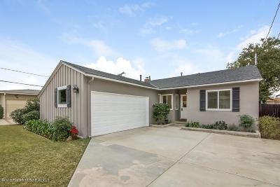 Duarte Single Family Home For Sale: 2936 Royal Oaks Drive