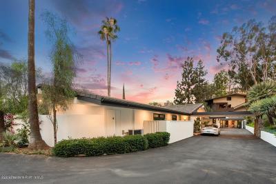 Pasadena Single Family Home For Sale: 260 Patrician Way