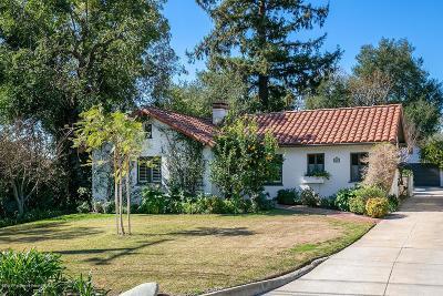 Altadena Single Family Home For Sale: 2187 North Holliston Avenue