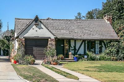 Altadena Single Family Home For Sale: 2193 North Holliston Avenue