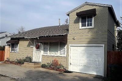 Pasadena Single Family Home For Sale: 850 Mountain Place
