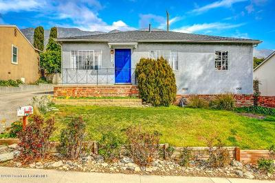 La Crescenta Single Family Home Active Under Contract: 3343 Santa Carlotta Street