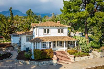 La Crescenta Single Family Home Active Under Contract: 2402 El Moreno Street
