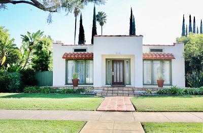 Pasadena Single Family Home Active Under Contract: 1140 East Orange Grove Boulevard