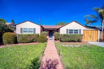 Van Nuys Single Family Home For Sale: 17537 Runnymede Street
