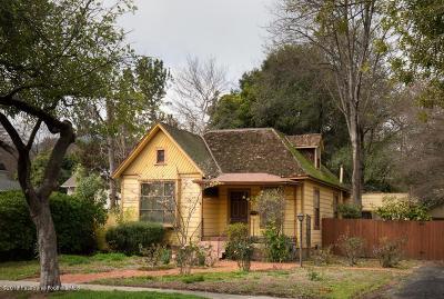 Pasadena Single Family Home For Sale: 1415 Ontario Avenue