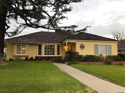 San Marino Single Family Home For Sale: 1320 Blackstone Road
