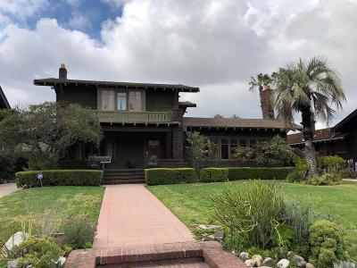 Pasadena Single Family Home For Sale: 989 South El Molino Avenue