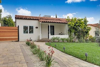 Glendale Single Family Home For Sale: 3604 Rosemary Avenue