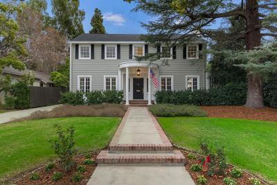 Pasadena Single Family Home Active Under Contract: 1154 South Oakland Avenue