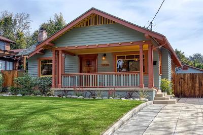 Pasadena Single Family Home For Sale: 1040 North Michigan Avenue