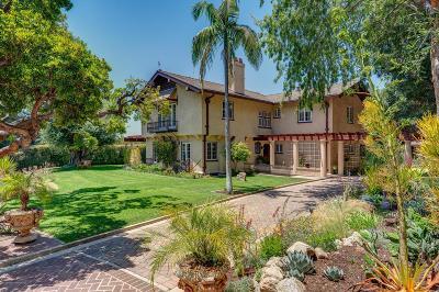 Altadena Single Family Home For Sale: 2709 Visscher Place