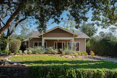 Pasadena Single Family Home Active Under Contract: 1634 Fiske Avenue