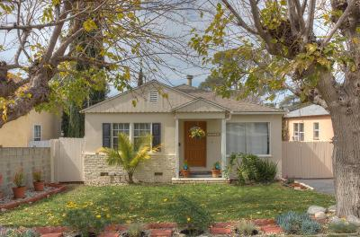 Tujunga Single Family Home Active Under Contract: 10419 McClemont Avenue