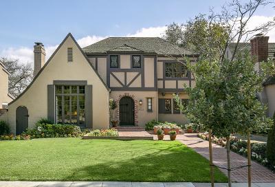 San Marino Single Family Home Active Under Contract: 2428 Ridgeway Road