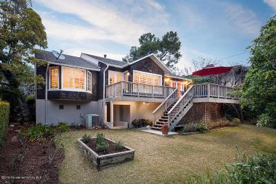 Pasadena Single Family Home For Sale: 970 Mesa Verde Road