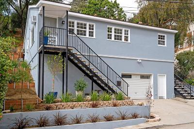 Glendale Single Family Home For Sale: 619 Canyon Drive