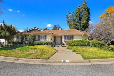 Pasadena Single Family Home For Sale: 395 San Palo Place