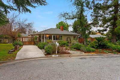 Altadena Single Family Home Active Under Contract: 3802 El Sereno Avenue