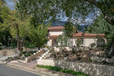 Altadena Single Family Home For Sale: 2085 Glenview Terrace