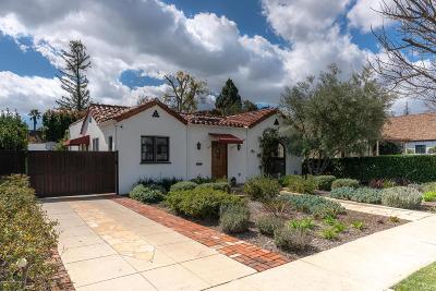 Pasadena Single Family Home For Sale: 1786 Orangewood Street